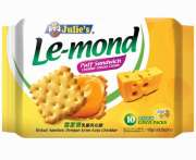 Lemond Puff Sandwich Cheese 10sX18g (#)