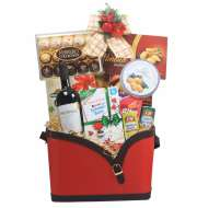 Christmas Basket Hamper BSRW10X