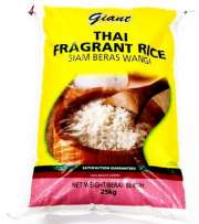 Thai Fragrant Rice 25kg