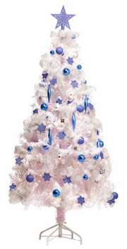 180cm White Christmas Tree 576 Tips