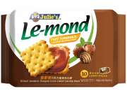 Lemond Puff Sandwich Choco Hazelnut 10sx17g