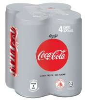 Coke Light 4sX330ml