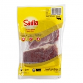 Frozen Beef Striploin Steak 500g