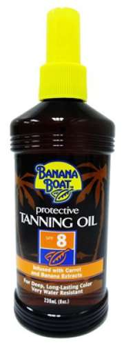 Protective Tanning Oil SPF8 236ml