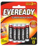 Super Heavy Duty Batteries AAA8