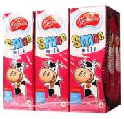 Smoo UHT Milk Strawberry 6sX230ml