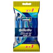 BlueII Plus Disposable Razors 5+1s