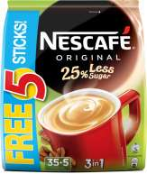 3 in 1 Original Coffee - 25% Less Sugar 35+5sX15g