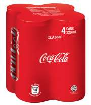 Coke 4sX330ml