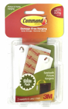 3 Large Sawtooth Picture Hangers 17042