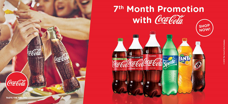 Coca Cola 7th Month