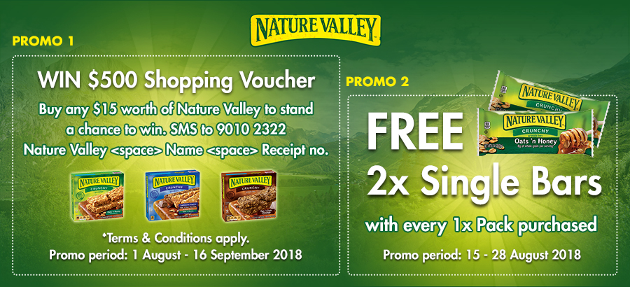 Nature Valley Banner