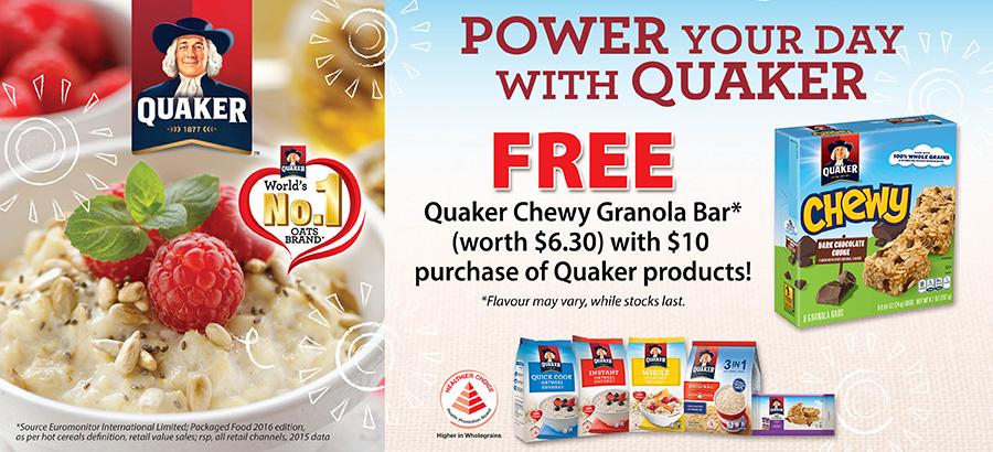 Quaker Promo