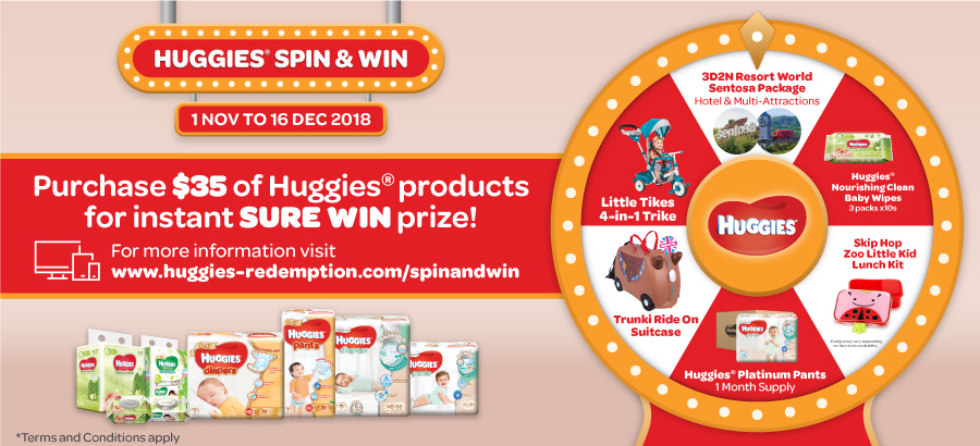 Huggies Spin & Win