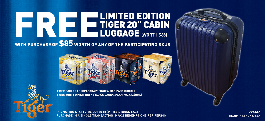 Tiger beer promo