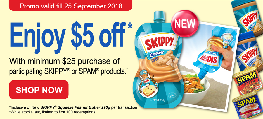 Spam Skippy Promo