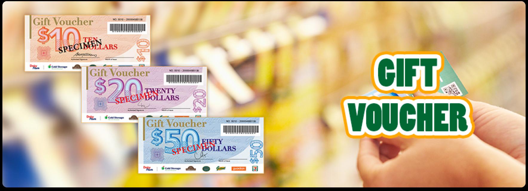 Gift Vouchers - Giant Singapore