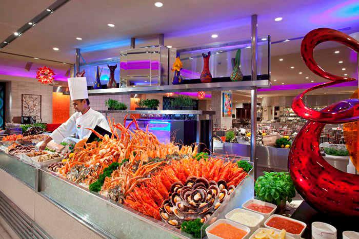 halal buffet carousel