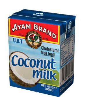 Halal coconut milk