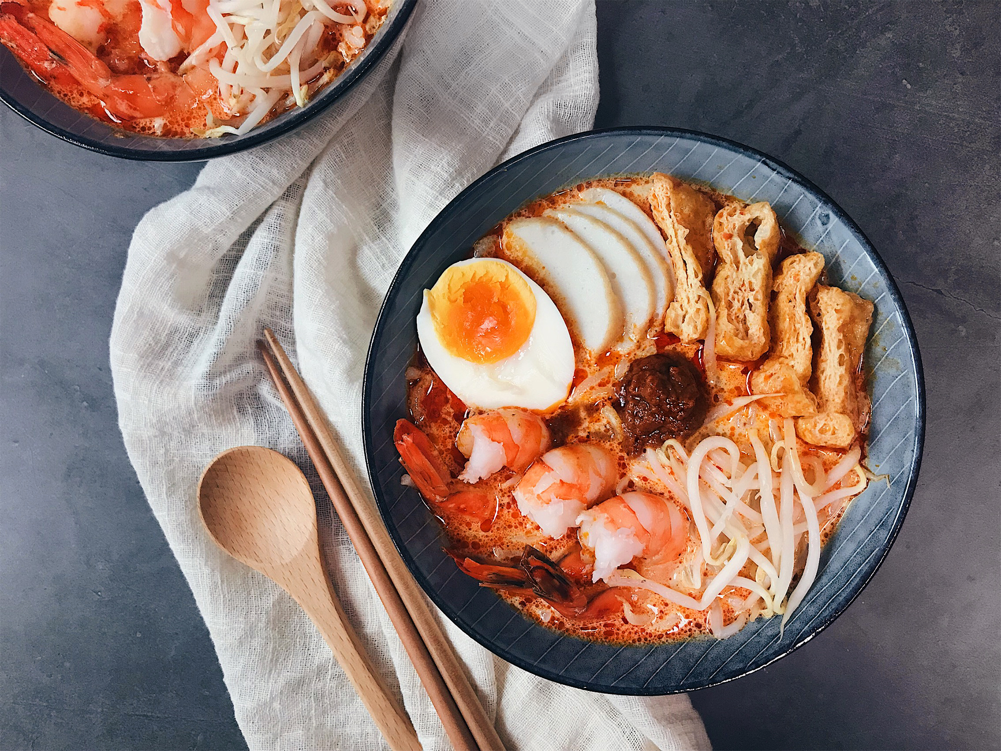 laksa recipe home cooked