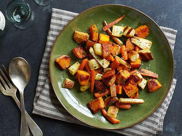 roasted winter vegetables are a simple addition to your menu feel free to experiment with the types of veggies used in your holiday dish - Simple Christmas Dinner Ideas