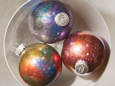 image courtesy of readers digest - Holographic Christmas Decorations
