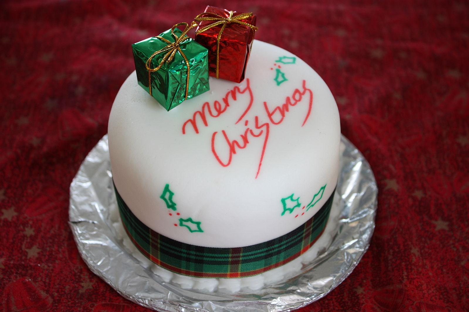 christmas cake ideas pictures